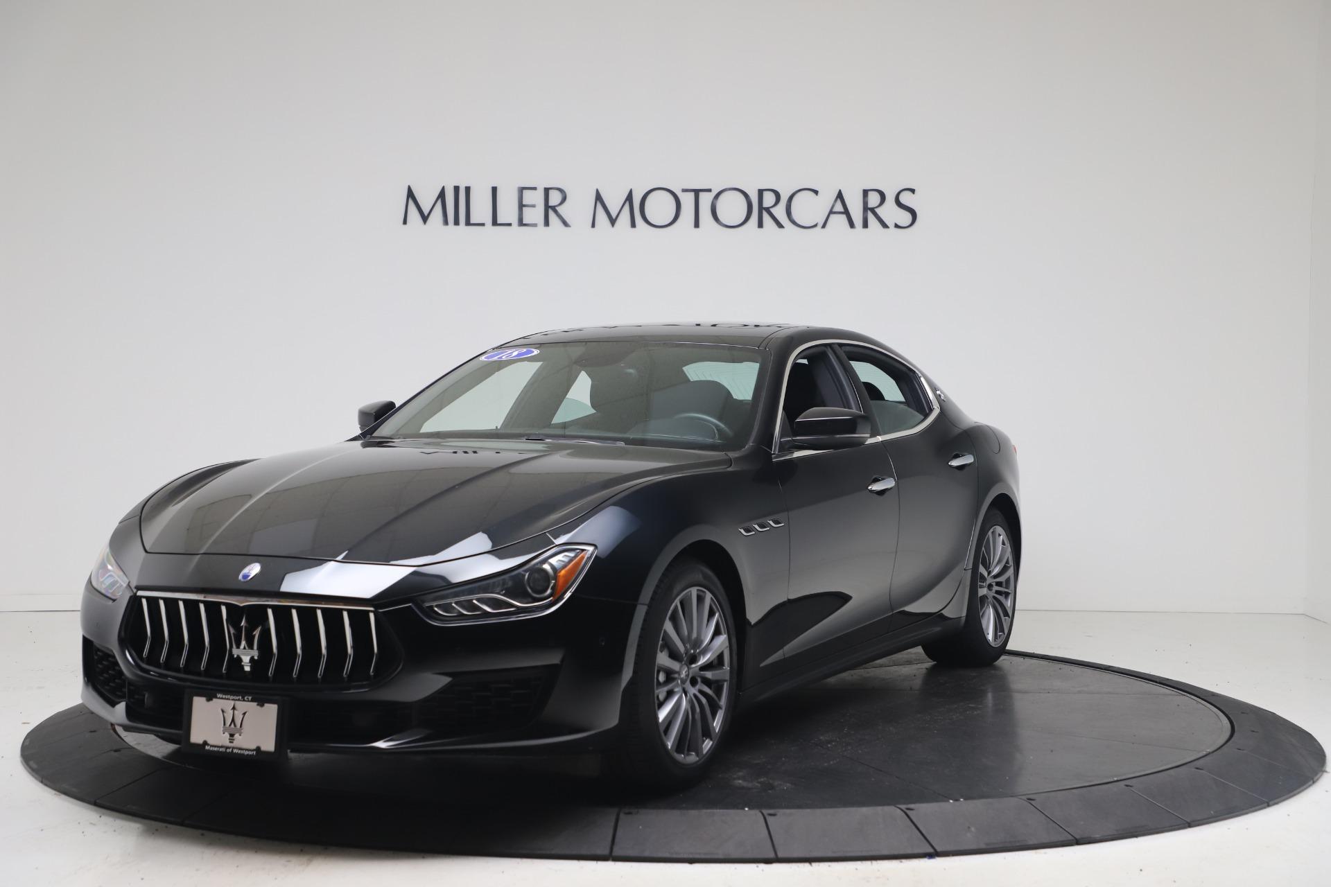 Used 2018 Maserati Ghibli SQ4 for sale $54,900 at Aston Martin of Greenwich in Greenwich CT 06830 1
