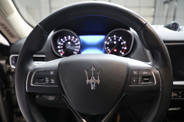 Used 2018 Maserati Levante for sale $57,900 at Aston Martin of Greenwich in Greenwich CT 06830 16