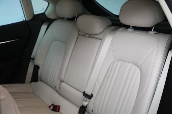 Used 2018 Maserati Levante for sale $57,900 at Aston Martin of Greenwich in Greenwich CT 06830 18