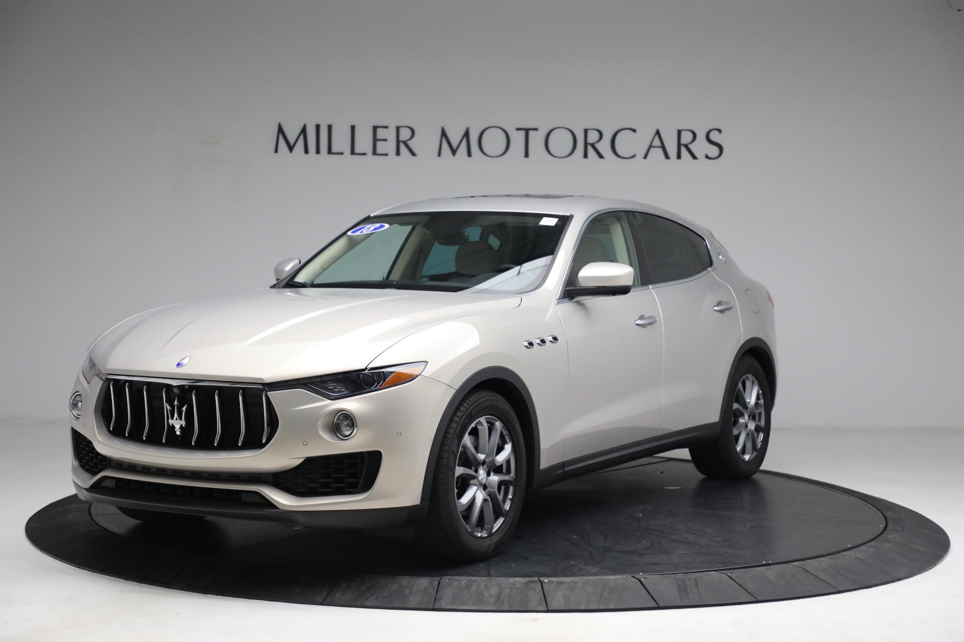 Used 2018 Maserati Levante for sale $57,900 at Aston Martin of Greenwich in Greenwich CT 06830 1