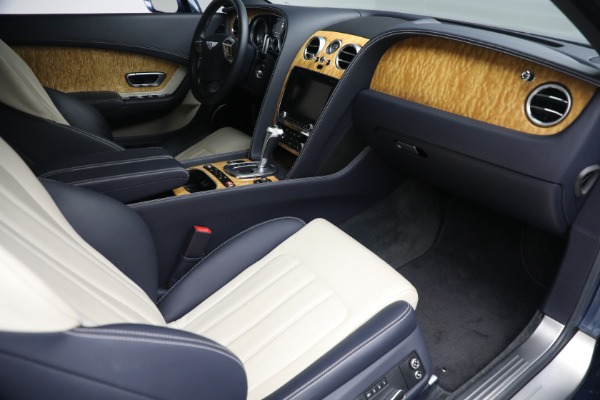 Used 2015 Bentley Continental GT V8 S for sale $119,900 at Aston Martin of Greenwich in Greenwich CT 06830 22