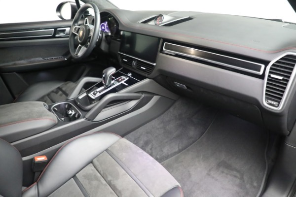 Used 2021 Porsche Cayenne GTS Coupe for sale Sold at Aston Martin of Greenwich in Greenwich CT 06830 23