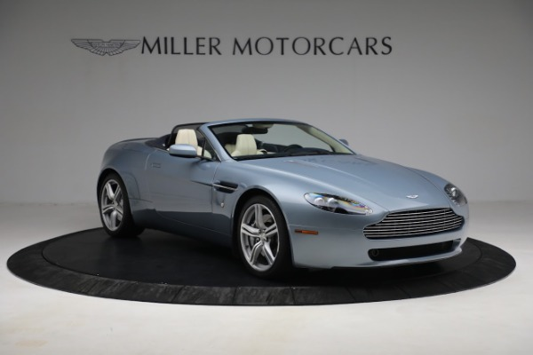 Used 2009 Aston Martin V8 Vantage Roadster for sale Call for price at Aston Martin of Greenwich in Greenwich CT 06830 10