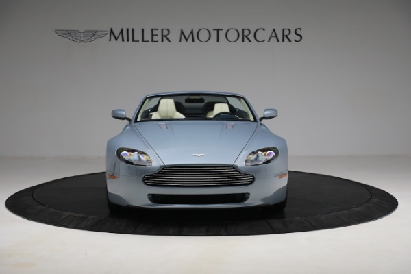 Used 2009 Aston Martin V8 Vantage Roadster for sale Call for price at Aston Martin of Greenwich in Greenwich CT 06830 11