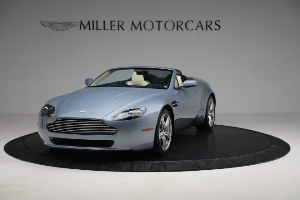 Used 2009 Aston Martin V8 Vantage Roadster for sale Call for price at Aston Martin of Greenwich in Greenwich CT 06830 12
