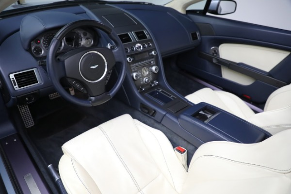 Used 2009 Aston Martin V8 Vantage Roadster for sale Call for price at Aston Martin of Greenwich in Greenwich CT 06830 13