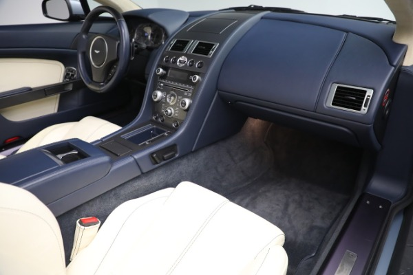 Used 2009 Aston Martin V8 Vantage Roadster for sale Call for price at Aston Martin of Greenwich in Greenwich CT 06830 18