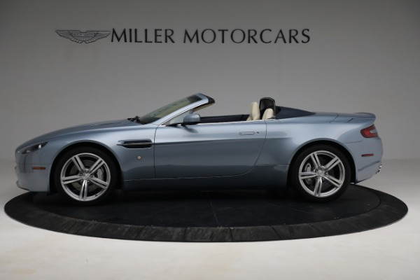 Used 2009 Aston Martin V8 Vantage Roadster for sale Call for price at Aston Martin of Greenwich in Greenwich CT 06830 2