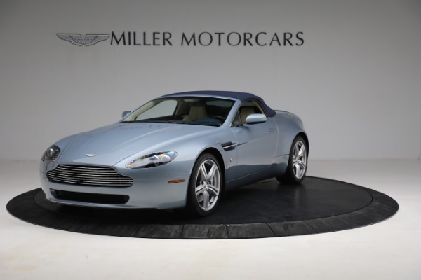 Used 2009 Aston Martin V8 Vantage Roadster for sale Call for price at Aston Martin of Greenwich in Greenwich CT 06830 21