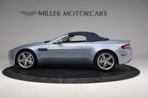 Used 2009 Aston Martin V8 Vantage Roadster for sale Call for price at Aston Martin of Greenwich in Greenwich CT 06830 22