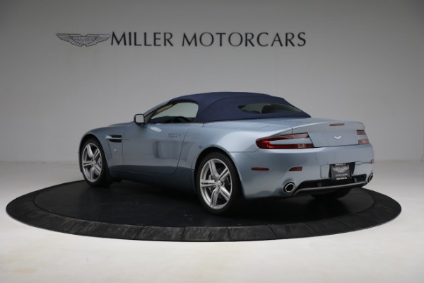 Used 2009 Aston Martin V8 Vantage Roadster for sale Call for price at Aston Martin of Greenwich in Greenwich CT 06830 23