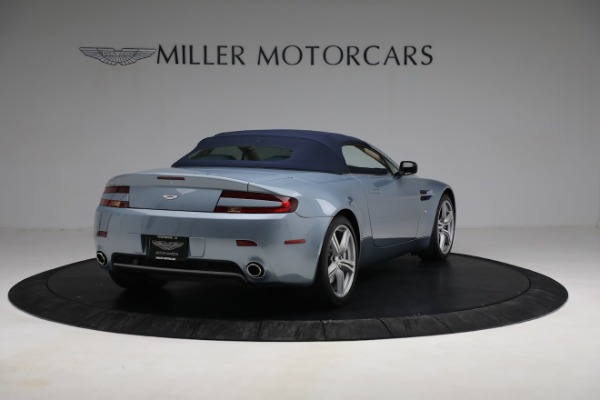 Used 2009 Aston Martin V8 Vantage Roadster for sale Call for price at Aston Martin of Greenwich in Greenwich CT 06830 24