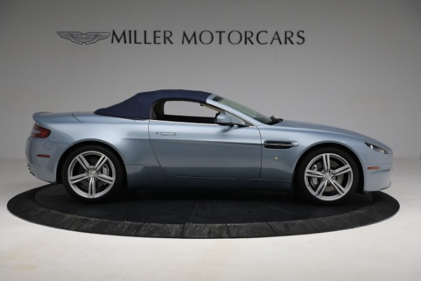 Used 2009 Aston Martin V8 Vantage Roadster for sale Call for price at Aston Martin of Greenwich in Greenwich CT 06830 25