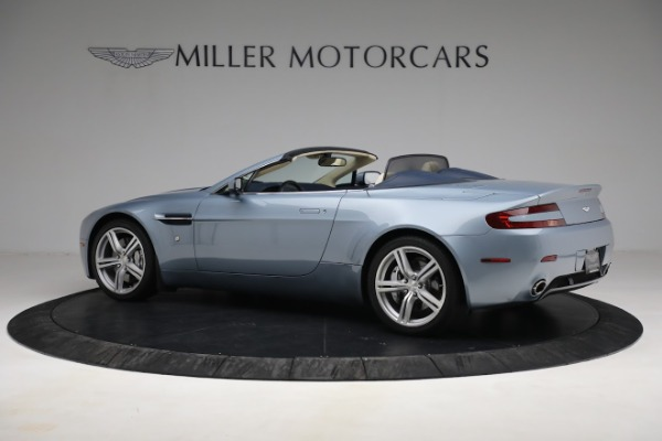 Used 2009 Aston Martin V8 Vantage Roadster for sale Call for price at Aston Martin of Greenwich in Greenwich CT 06830 3