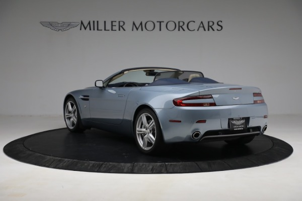 Used 2009 Aston Martin V8 Vantage Roadster for sale Call for price at Aston Martin of Greenwich in Greenwich CT 06830 4