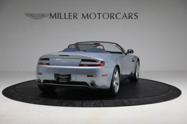 Used 2009 Aston Martin V8 Vantage Roadster for sale Call for price at Aston Martin of Greenwich in Greenwich CT 06830 6