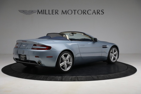 Used 2009 Aston Martin V8 Vantage Roadster for sale Call for price at Aston Martin of Greenwich in Greenwich CT 06830 7