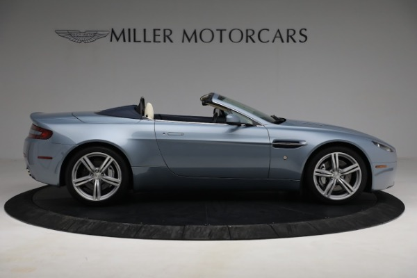 Used 2009 Aston Martin V8 Vantage Roadster for sale Call for price at Aston Martin of Greenwich in Greenwich CT 06830 8