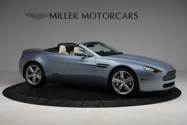 Used 2009 Aston Martin V8 Vantage Roadster for sale Call for price at Aston Martin of Greenwich in Greenwich CT 06830 9