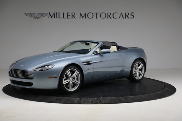 Used 2009 Aston Martin V8 Vantage Roadster for sale Call for price at Aston Martin of Greenwich in Greenwich CT 06830 1