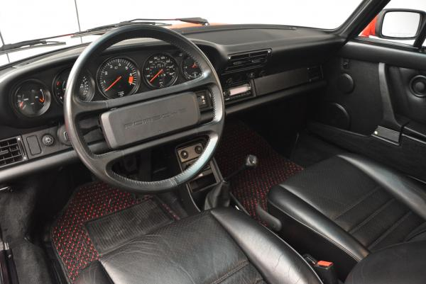 Used 1988 Porsche 911 Carrera for sale Sold at Aston Martin of Greenwich in Greenwich CT 06830 13