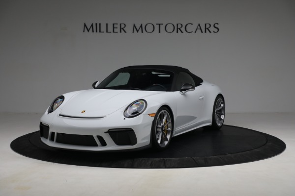 Used 2019 Porsche 911 Speedster for sale Sold at Aston Martin of Greenwich in Greenwich CT 06830 13
