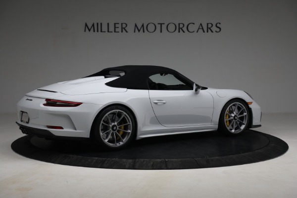 Used 2019 Porsche 911 Speedster for sale Sold at Aston Martin of Greenwich in Greenwich CT 06830 18
