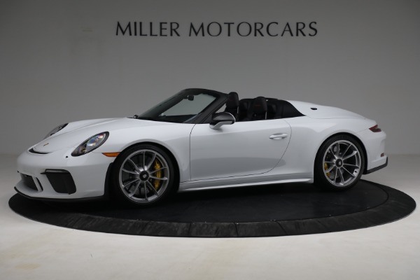 Used 2019 Porsche 911 Speedster for sale Sold at Aston Martin of Greenwich in Greenwich CT 06830 2