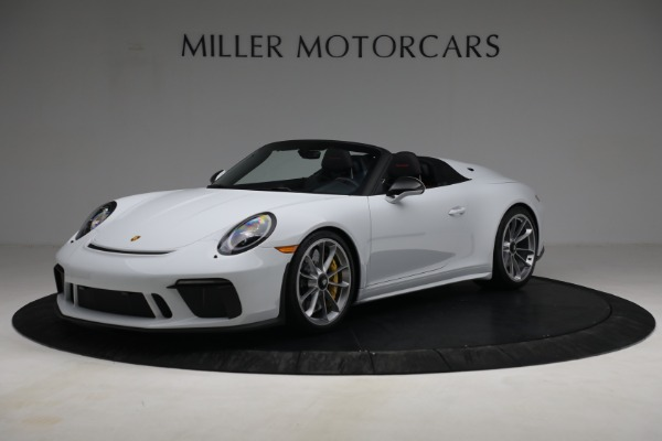 Used 2019 Porsche 911 Speedster for sale Sold at Aston Martin of Greenwich in Greenwich CT 06830 1