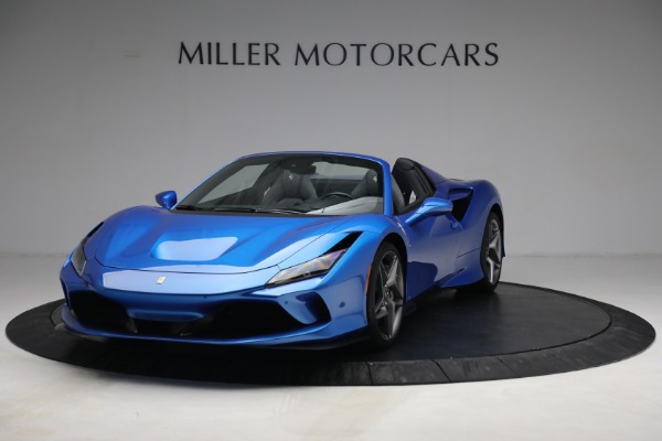 Used 2021 Ferrari F8 Spider for sale $499,900 at Aston Martin of Greenwich in Greenwich CT 06830 1