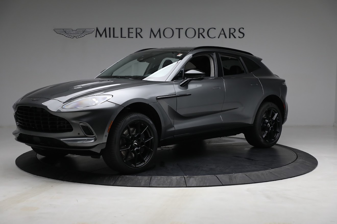 New 2021 Aston Martin DBX for sale $202,286 at Aston Martin of Greenwich in Greenwich CT 06830 1