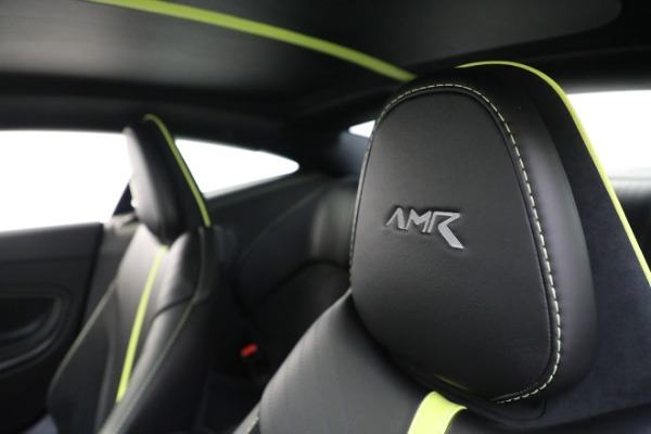 Used 2019 Aston Martin DB11 AMR for sale Call for price at Aston Martin of Greenwich in Greenwich CT 06830 17