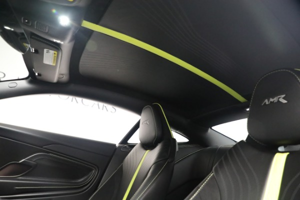 Used 2019 Aston Martin DB11 AMR for sale Call for price at Aston Martin of Greenwich in Greenwich CT 06830 18