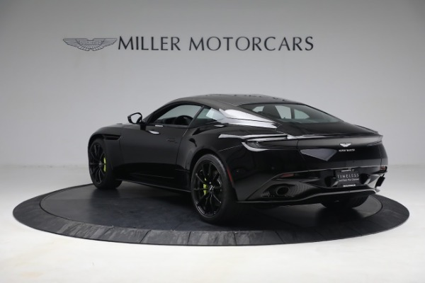 Used 2019 Aston Martin DB11 AMR for sale Call for price at Aston Martin of Greenwich in Greenwich CT 06830 4