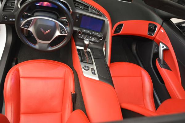 Used 2014 Chevrolet Corvette Stingray Z51 for sale Sold at Aston Martin of Greenwich in Greenwich CT 06830 17