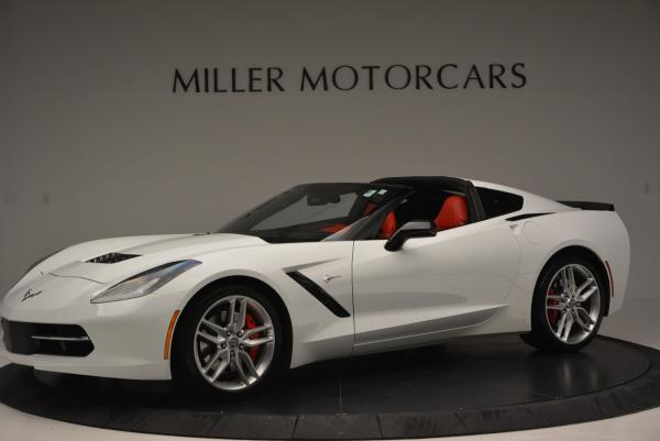 Used 2014 Chevrolet Corvette Stingray Z51 for sale Sold at Aston Martin of Greenwich in Greenwich CT 06830 3