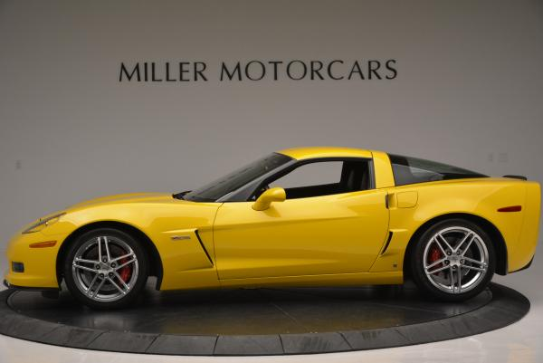 Used 2006 Chevrolet Corvette Z06 Hardtop for sale Sold at Aston Martin of Greenwich in Greenwich CT 06830 3