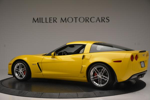 Used 2006 Chevrolet Corvette Z06 Hardtop for sale Sold at Aston Martin of Greenwich in Greenwich CT 06830 4