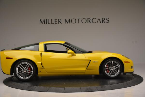 Used 2006 Chevrolet Corvette Z06 Hardtop for sale Sold at Aston Martin of Greenwich in Greenwich CT 06830 8