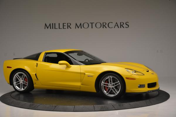 Used 2006 Chevrolet Corvette Z06 Hardtop for sale Sold at Aston Martin of Greenwich in Greenwich CT 06830 9