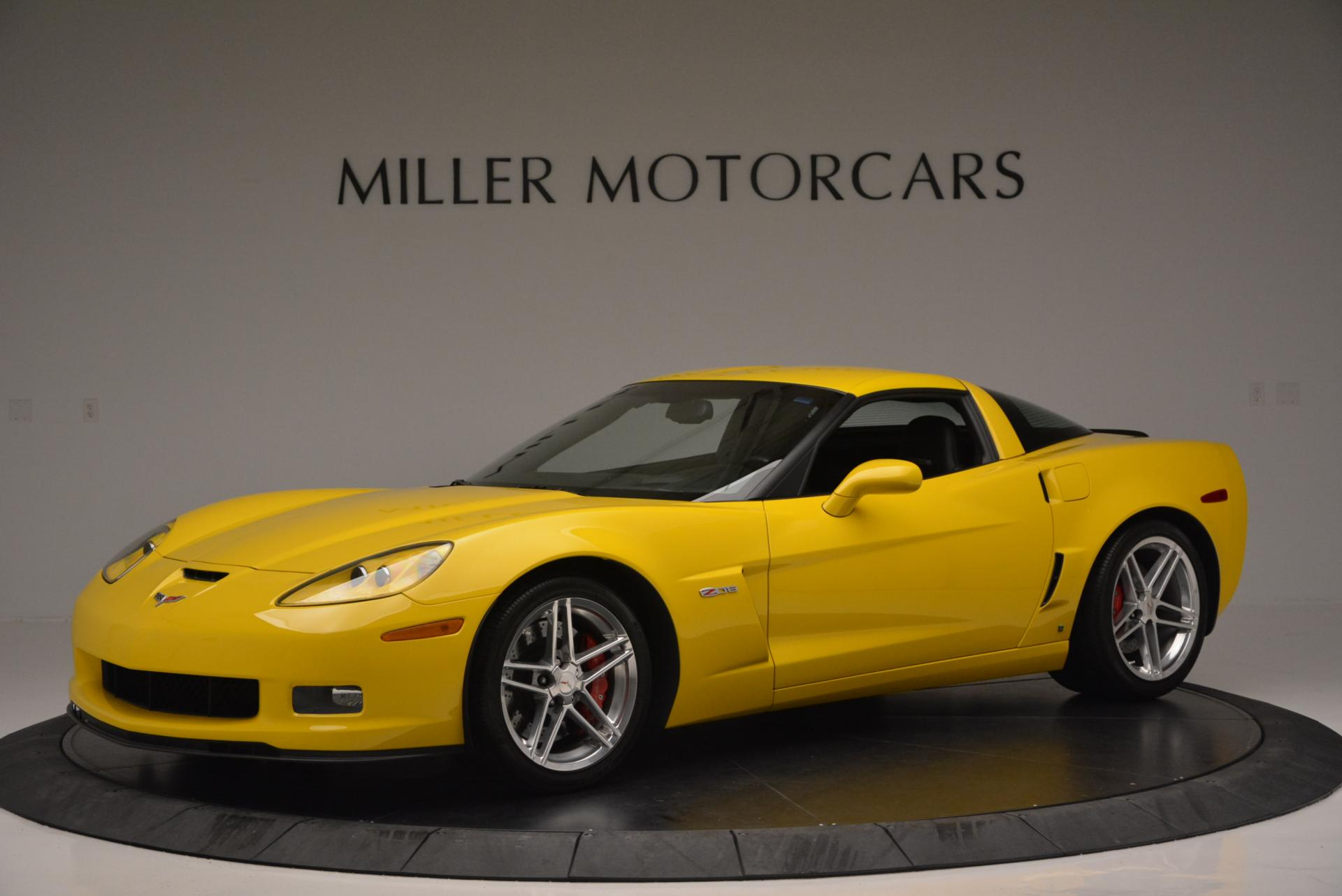 Used 2006 Chevrolet Corvette Z06 Hardtop for sale Sold at Aston Martin of Greenwich in Greenwich CT 06830 1
