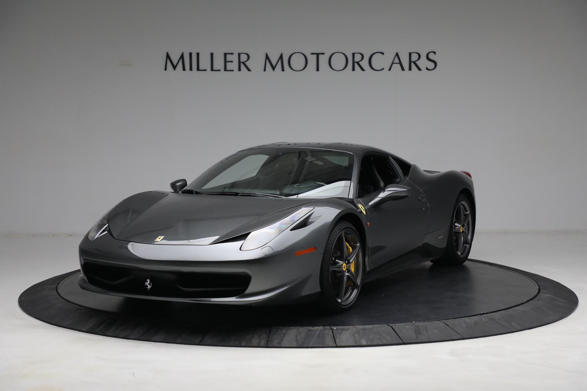 Used 2011 Ferrari 458 Italia for sale $229,900 at Aston Martin of Greenwich in Greenwich CT 06830 1