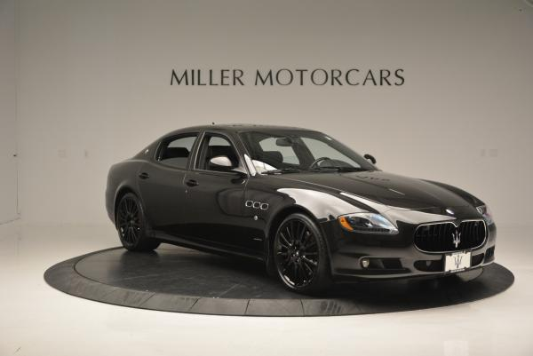 Used 2011 Maserati Quattroporte Sport GT S for sale Sold at Aston Martin of Greenwich in Greenwich CT 06830 11