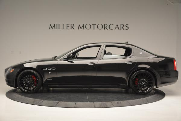 Used 2011 Maserati Quattroporte Sport GT S for sale Sold at Aston Martin of Greenwich in Greenwich CT 06830 3