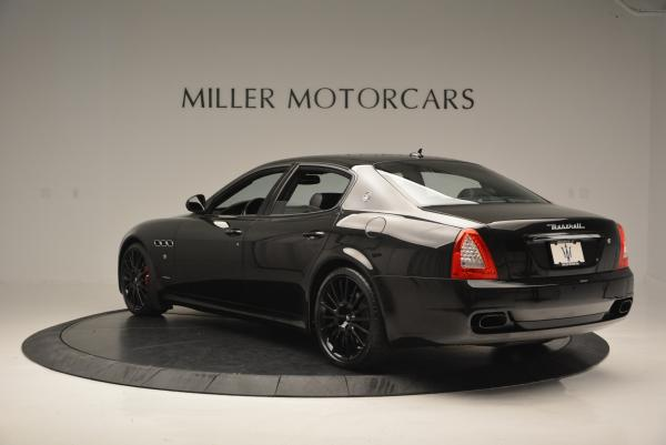Used 2011 Maserati Quattroporte Sport GT S for sale Sold at Aston Martin of Greenwich in Greenwich CT 06830 5