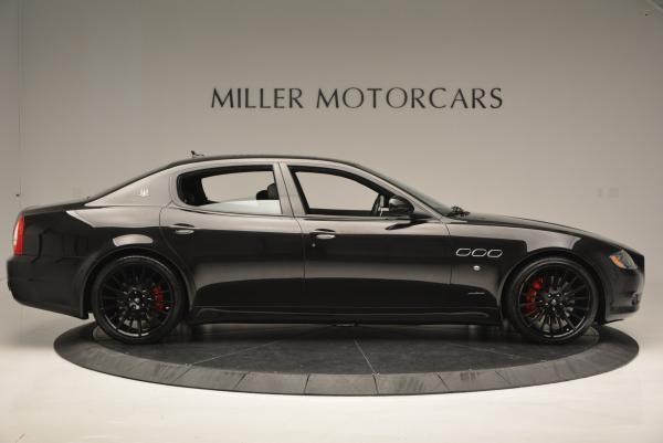 Used 2011 Maserati Quattroporte Sport GT S for sale Sold at Aston Martin of Greenwich in Greenwich CT 06830 9