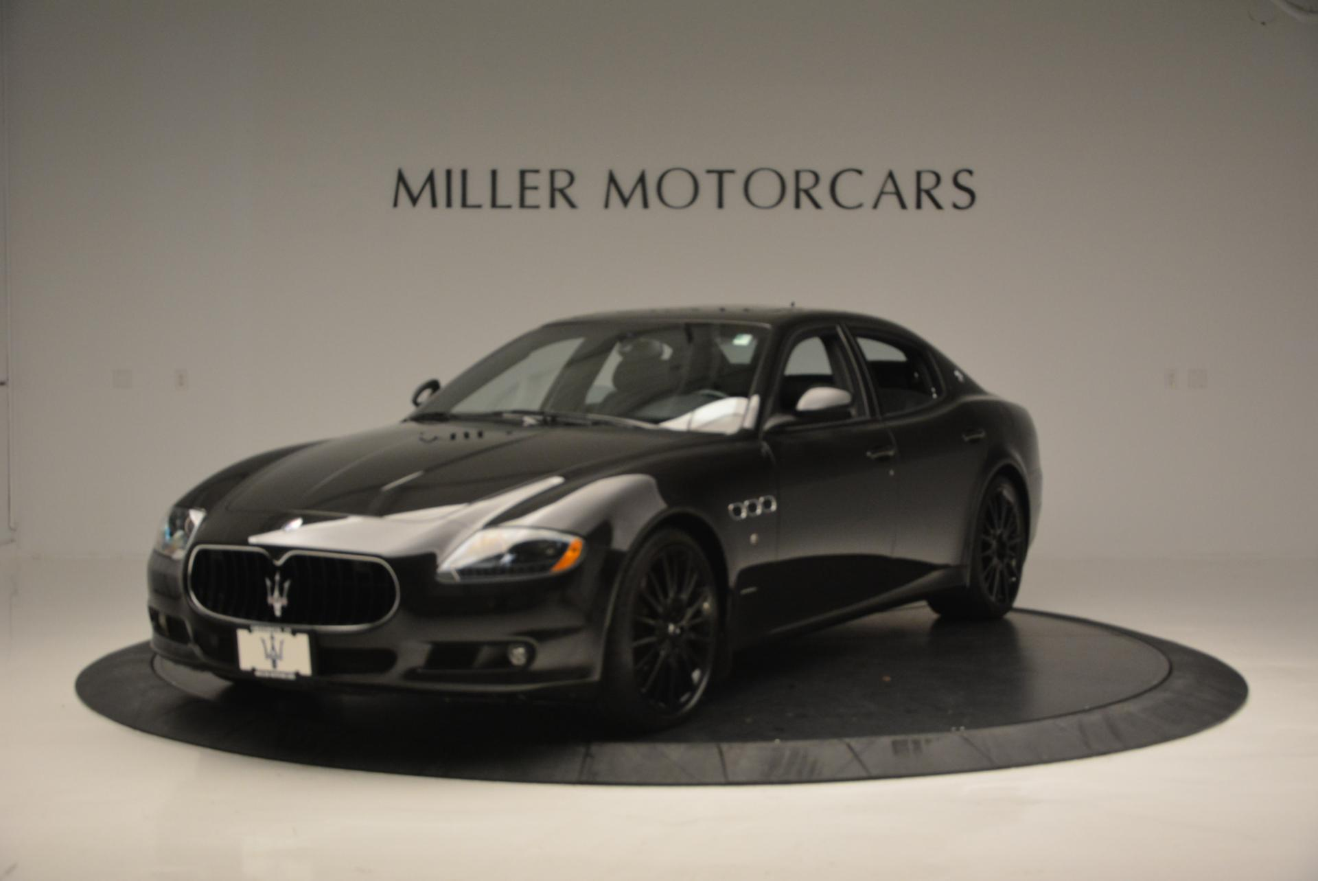 Used 2011 Maserati Quattroporte Sport GT S for sale Sold at Aston Martin of Greenwich in Greenwich CT 06830 1