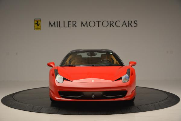 Used 2013 Ferrari 458 Spider for sale Sold at Aston Martin of Greenwich in Greenwich CT 06830 24