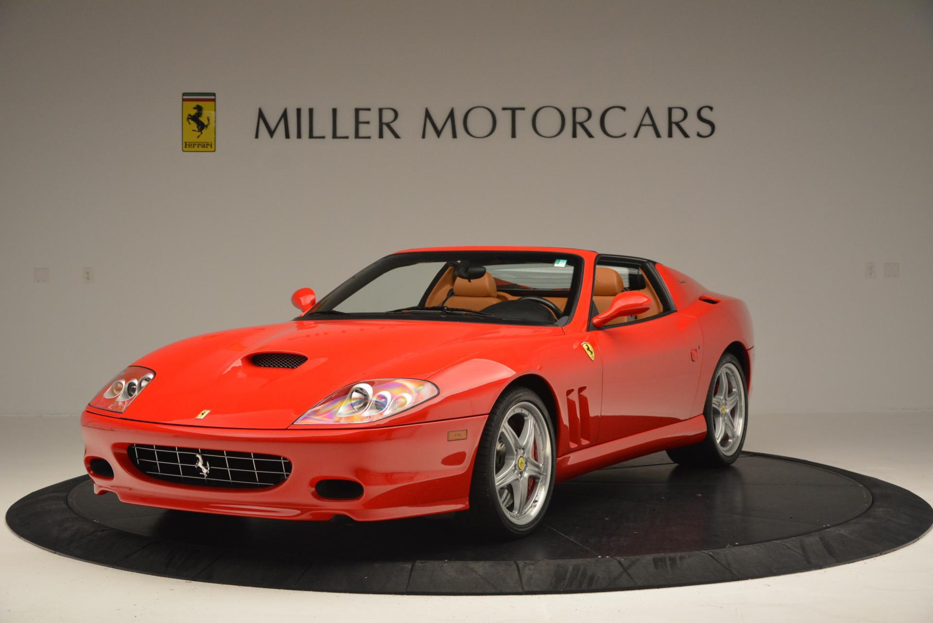 Used 2005 Ferrari Superamerica for sale Sold at Aston Martin of Greenwich in Greenwich CT 06830 1