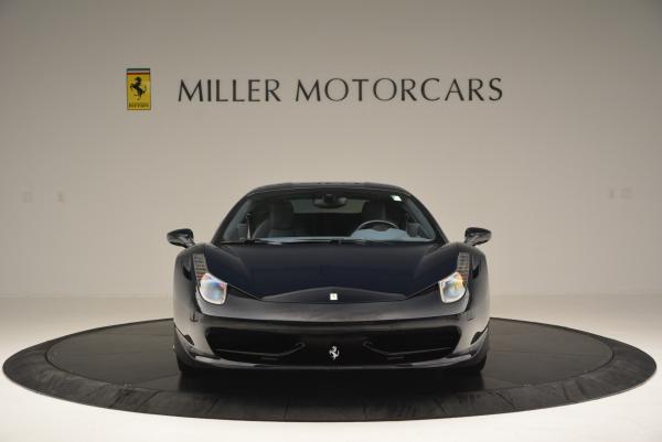 Used 2012 Ferrari 458 Italia for sale Sold at Aston Martin of Greenwich in Greenwich CT 06830 12